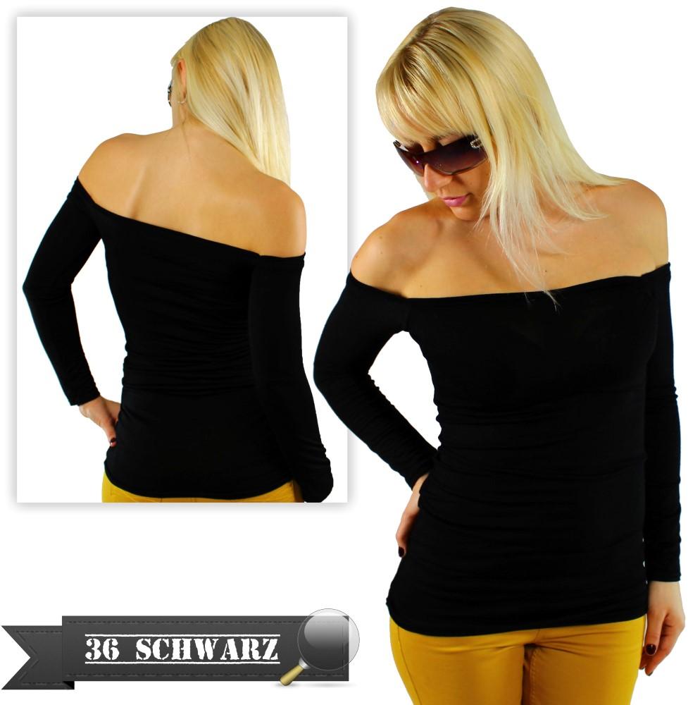 sexy damen schulterfrei womens t shirt top partytop. Black Bedroom Furniture Sets. Home Design Ideas