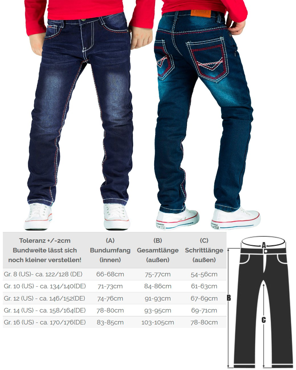 maedchenmode kinder jeans hosen