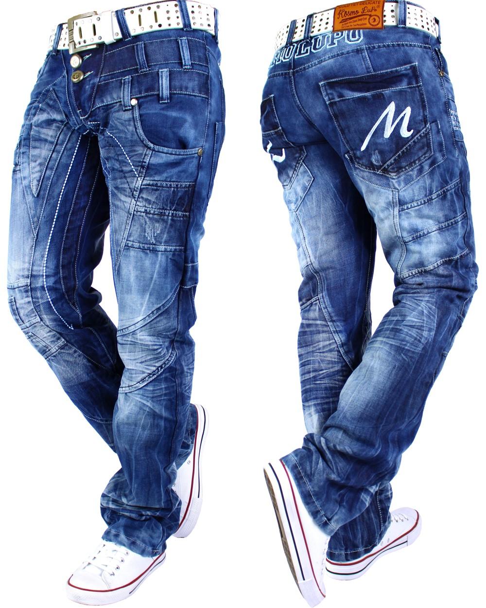 herren jeans hose mens pants straight slim cut fit cargo denim top mod marken ebay. Black Bedroom Furniture Sets. Home Design Ideas