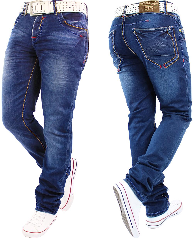 herren jeans hose mens pants straight slim cut fit cargo denim top mod marken ebay