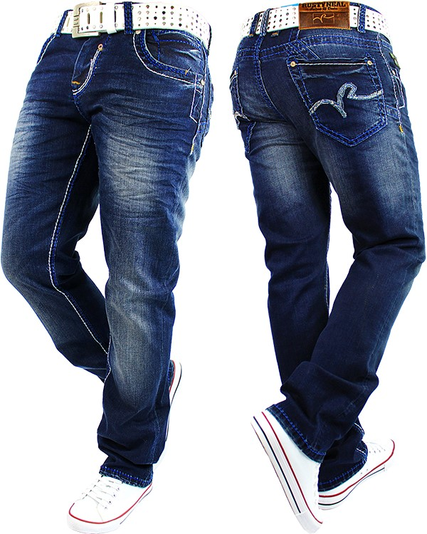 herren jeans hose denim freizeit jogg jogging streetwear. Black Bedroom Furniture Sets. Home Design Ideas