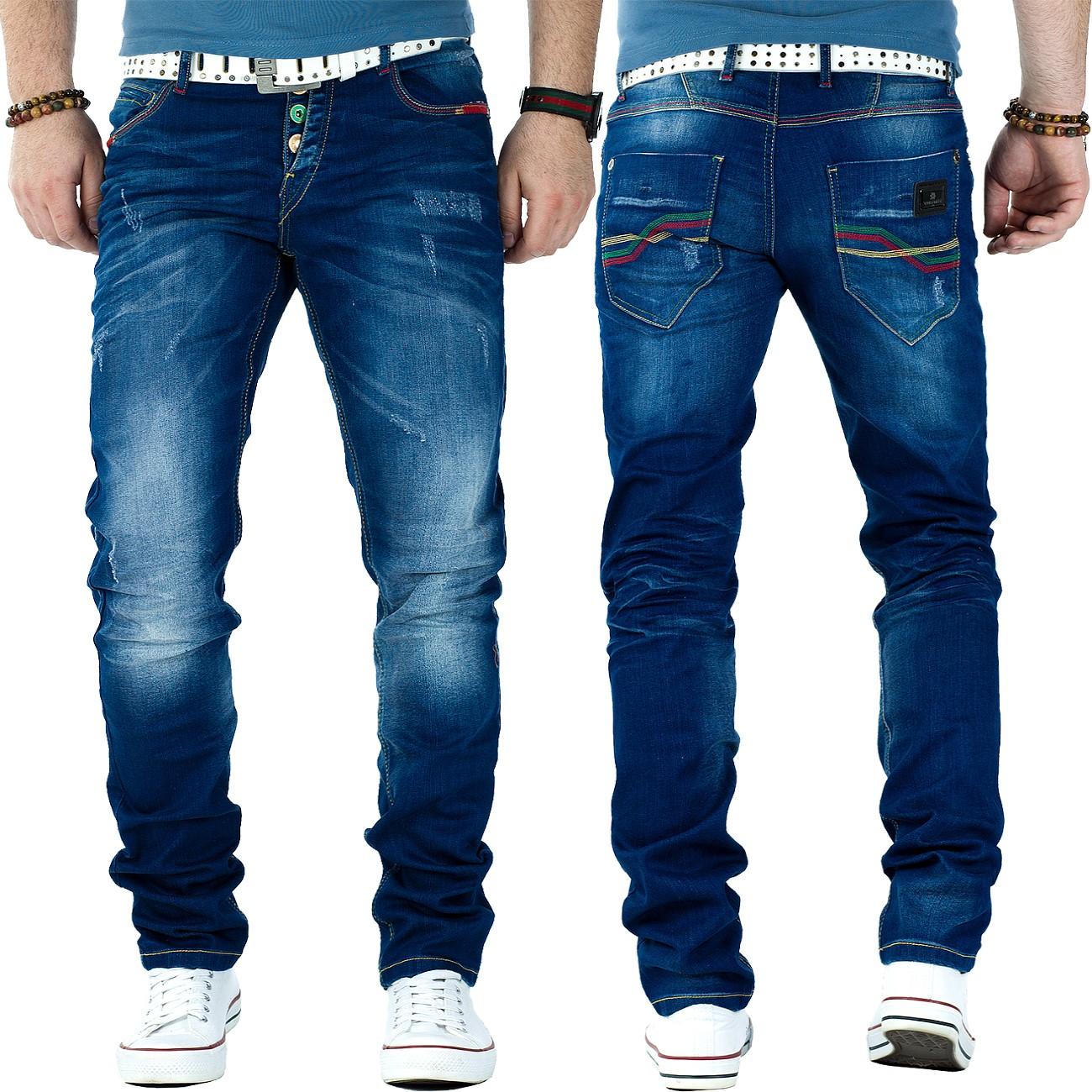 cipo baxx herren regular slim fit jeans hosen streetwear. Black Bedroom Furniture Sets. Home Design Ideas