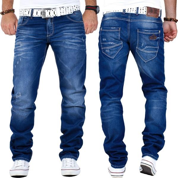 c70560f85f45 Cipo   Baxx Herren Slim Fit Regular Fit Jeans Mens Pants Freizeit ...