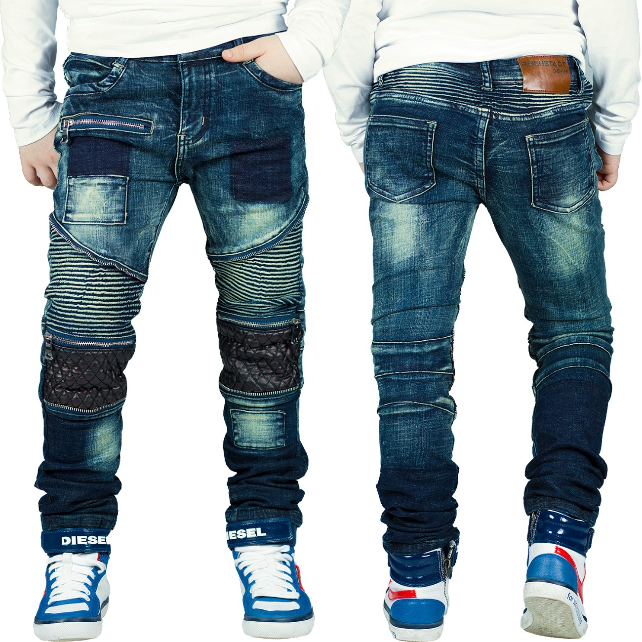 reichstadt jungen kinder hosen jeans jogging biker used 6. Black Bedroom Furniture Sets. Home Design Ideas