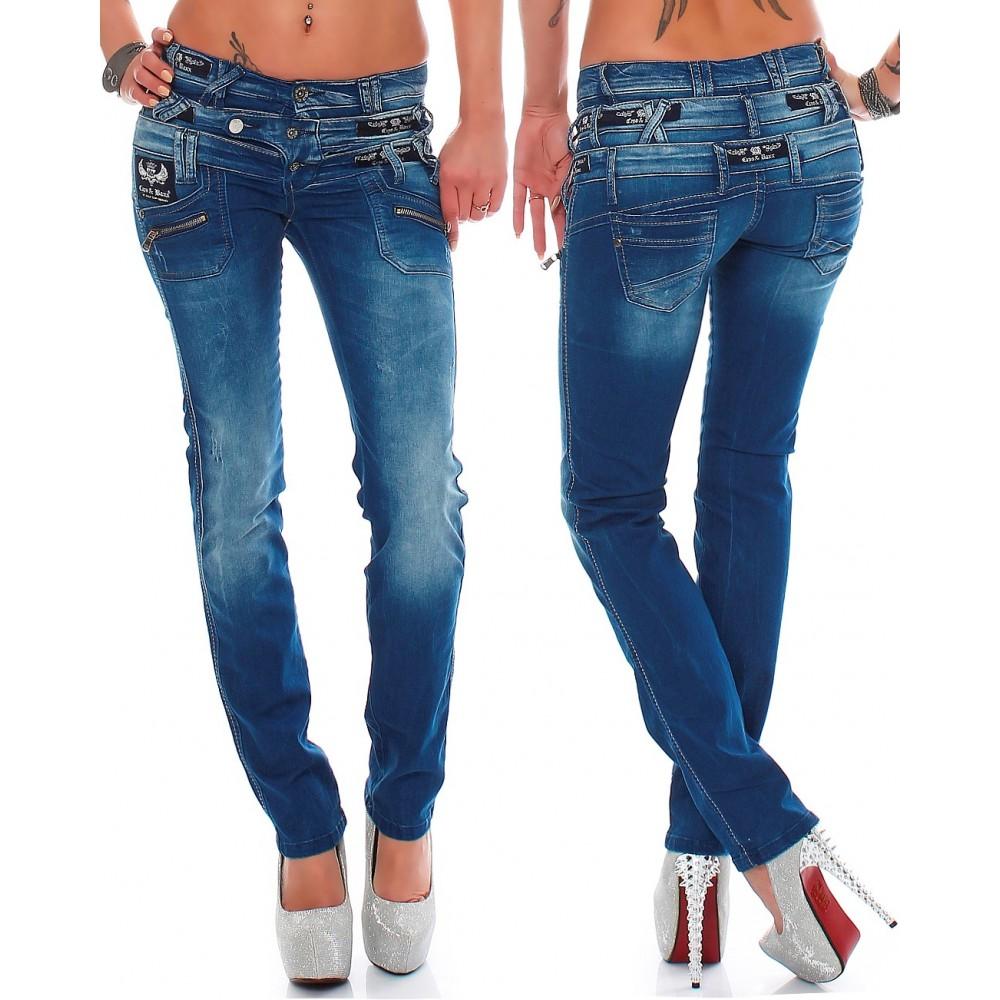 begrenzter Verkauf die beste Einstellung heiße Produkte Cipo & Baxx Damen Jeans CBW0282