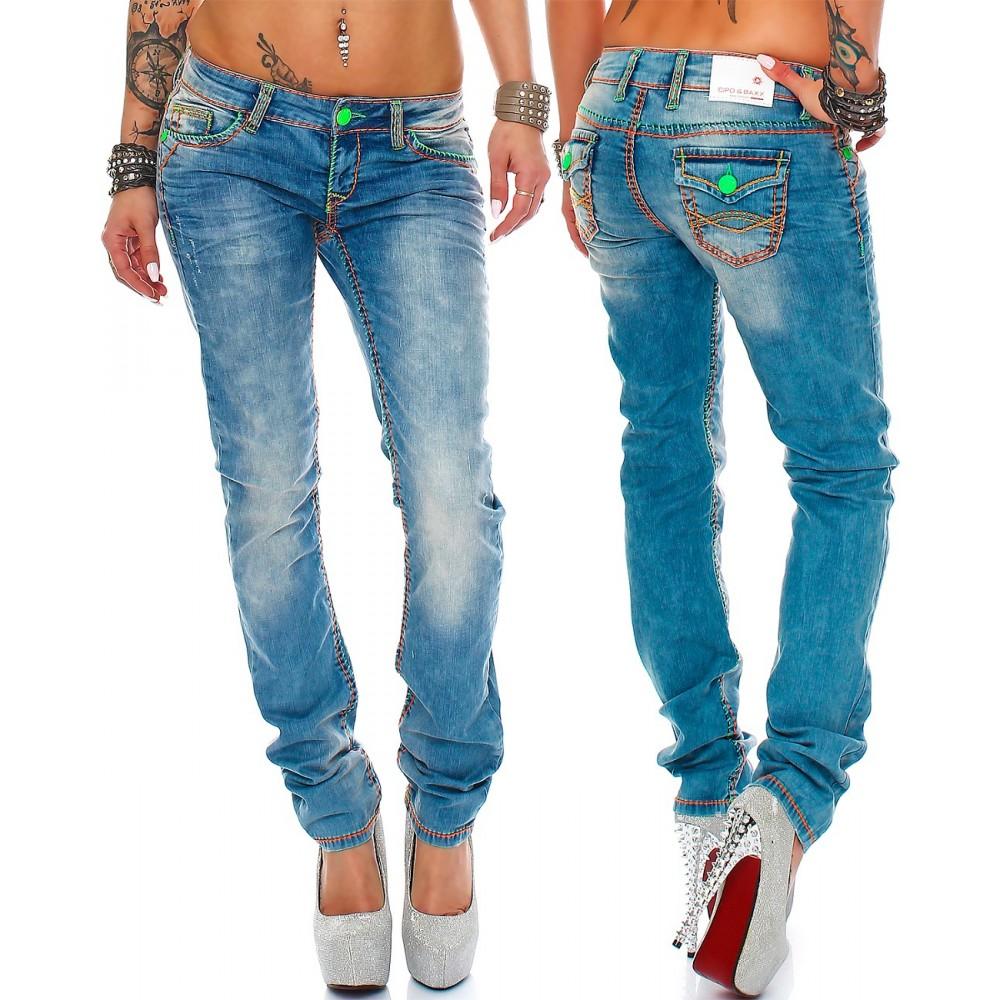 cipo baxx sexy damen fashion jeans 73 58. Black Bedroom Furniture Sets. Home Design Ideas