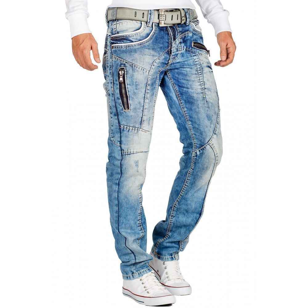 Jeans von CIPO /& BAXX C-1150 Herrenhose Cipoundbaxx
