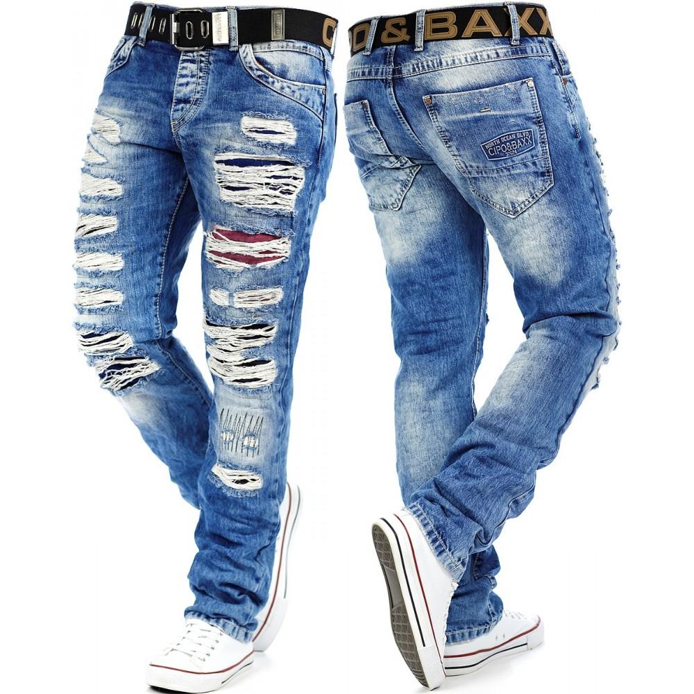 lebendig und großartig im Stil Straßenpreis begrenzter Verkauf Cipo & Baxx Herren Jeans CD131