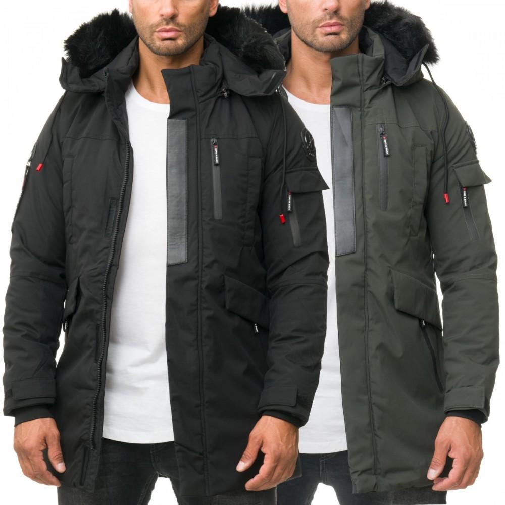 huge discount 74f93 3d4df Cipo & Baxx Herren Winter Jacke CM136