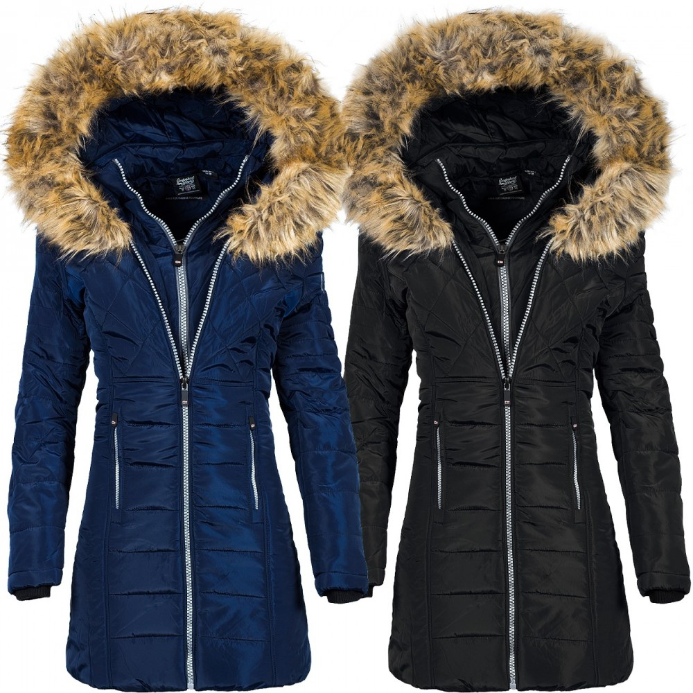 90 Damen Geographical Jacke Norway 109 Clementine € wXqH70qy