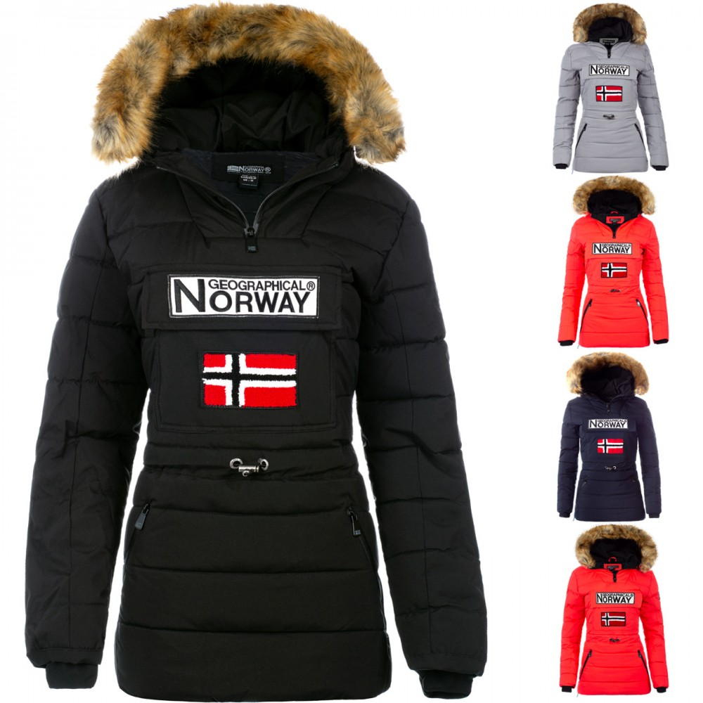 Details about Geographical Norway Women's Winter Parka