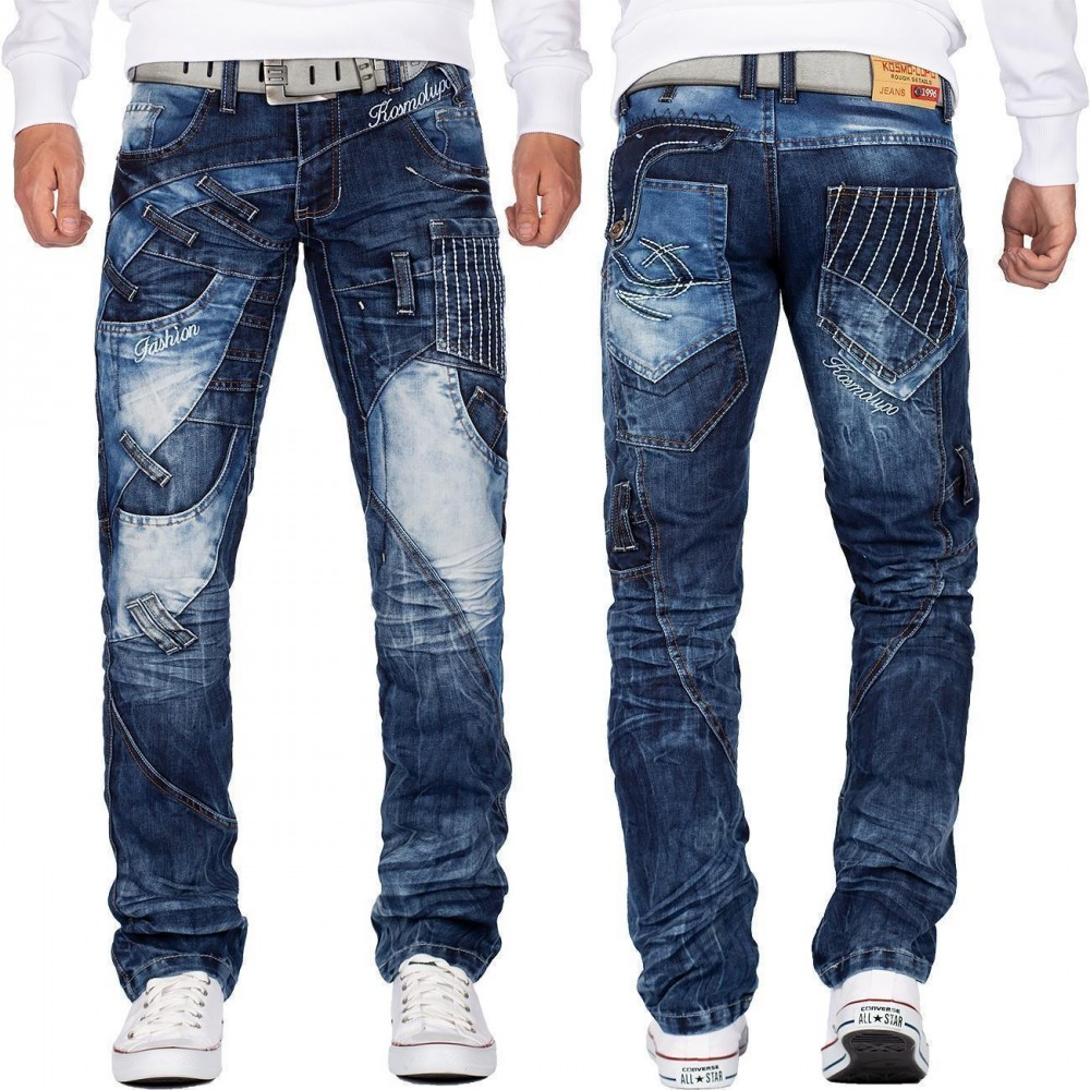 Geschäft preisreduziert Details für Kosmo Lupo Herren Jeans KM130