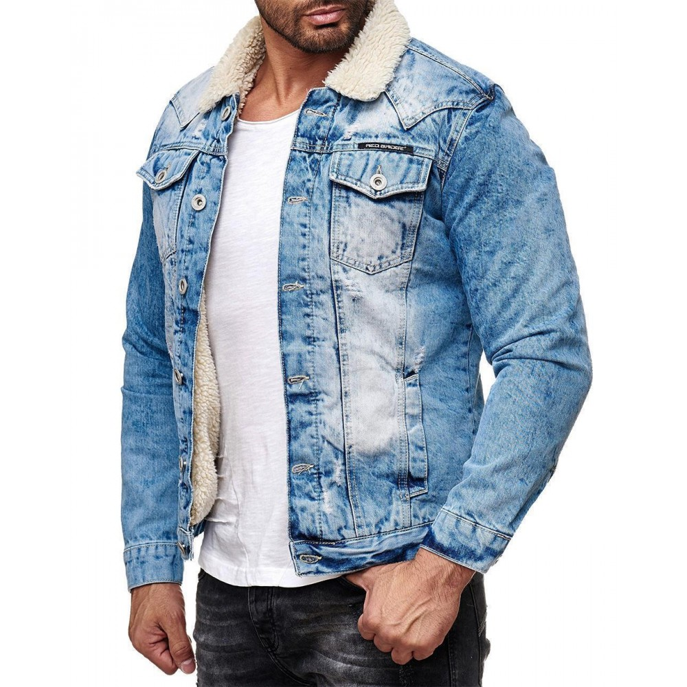 info for ec89e b4899 RedBridge Herren Jeans Jacke M6059
