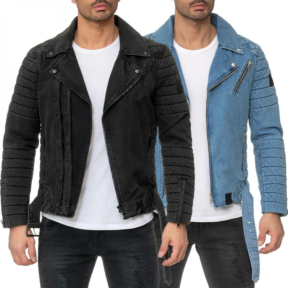 new products be5f0 79433 Reichstadt Herren Jeansjacke RS004