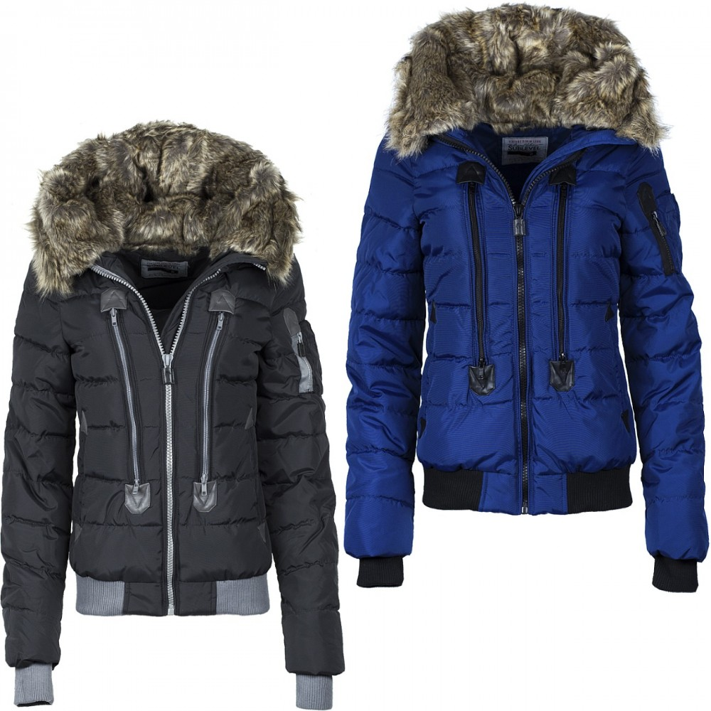 Sublevel winterjacke blau