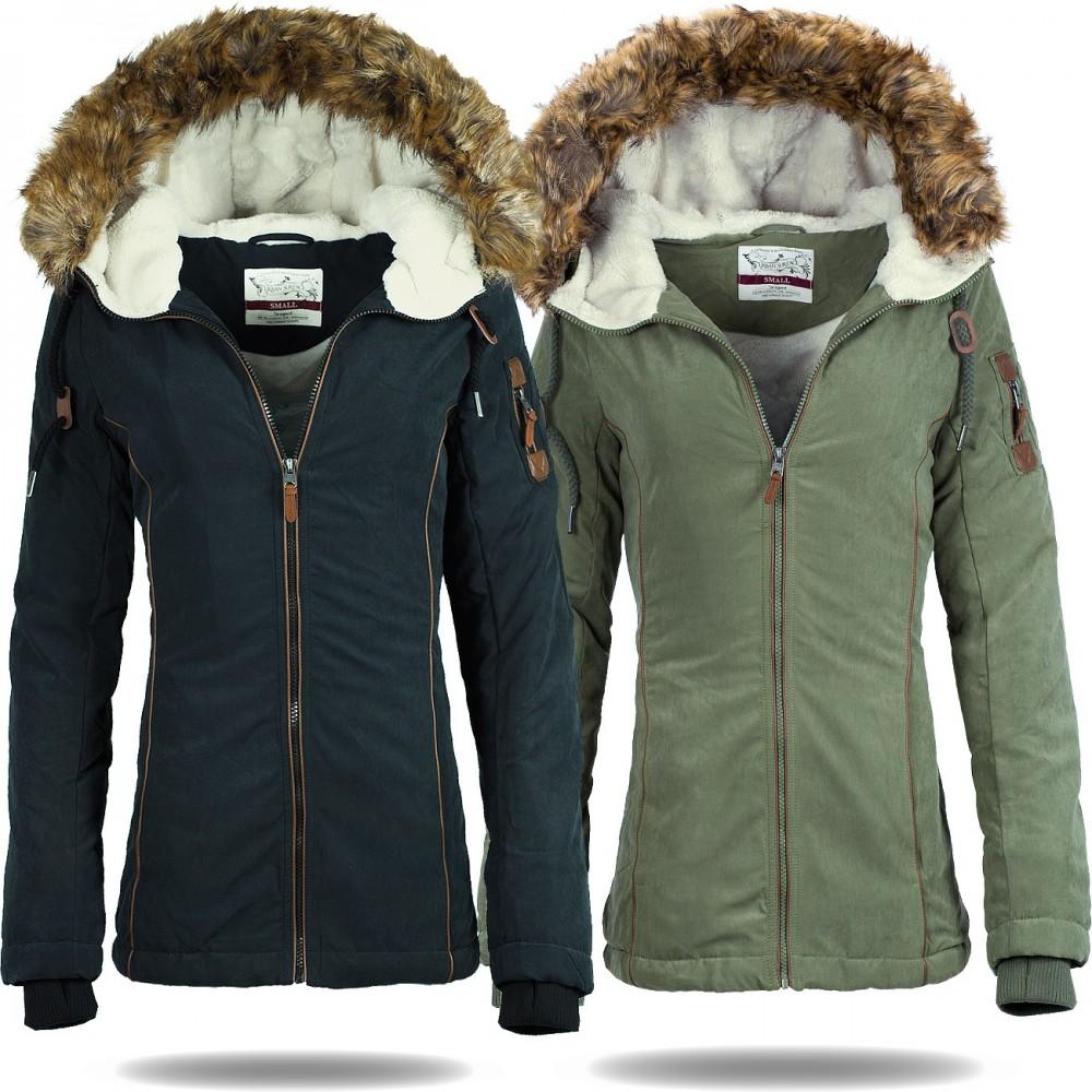 competitive price e22b9 32670 Urban Surface Damen Parka Jacke D5341X44392A
