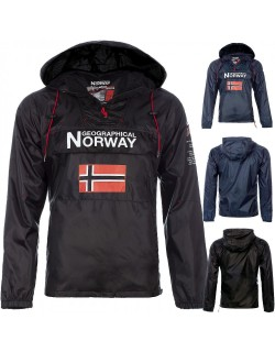 Geographical Norway Herren Windbreaker Jacke Butagaz