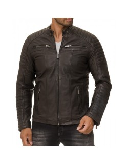 Red Bridge Herren Jacke ECHTLEDER M6013LUX-C