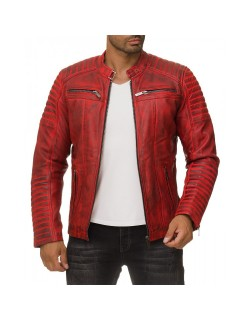 Red Bridge Herren Jacke ECHTLEDER M6013LUX-D
