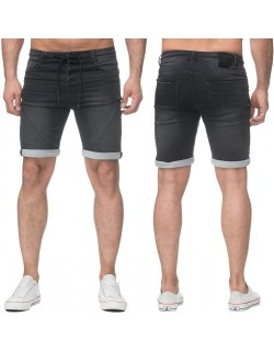 Sublevel Herren Jogging Shorts Schwarz H1318I61145KB22
