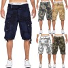 Geographical Norway Herren Shorts Panoramique Camo