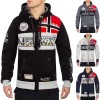 Geographical Norway Herren Sweatjacke Flyer Men