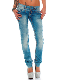 Cipo & Baxx Damen Jeans CBW0347A
