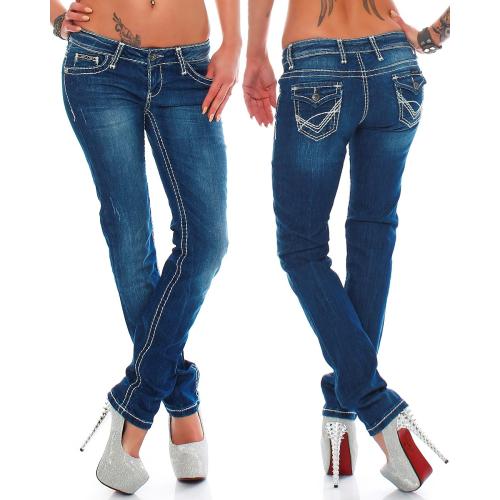 Cipo & Baxx Damen Jeans CBW0232