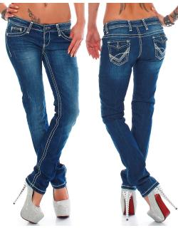 Cipo & Baxx Damen Jeans CBW0232 W25/L30