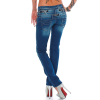 Cipo & Baxx Damen Jeans CBW0282