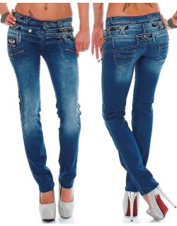Cipo & Baxx Damen Jeans CBW0282 W30/L34