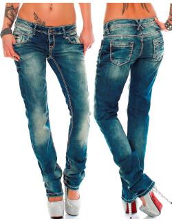 Cipo & Baxx Damen Jeans WD153 W27/L30