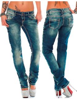 Cipo & Baxx Damen Jeans WD153 W28/L32