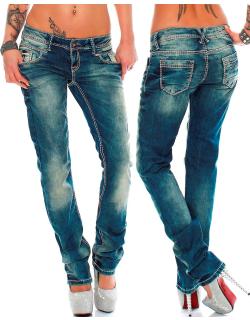 Cipo & Baxx Damen Jeans WD153 W29/L32