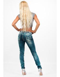 Cipo & Baxx Damen Jeans WD153 W31/L34