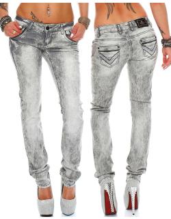 Cipo & Baxx Damen Jeans C46006 W30/L32