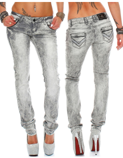 Cipo & Baxx Damen Jeans C46006 W31/L32