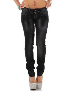 Cipo & Baxx Damen Jeans CBW0655