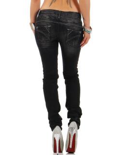 Cipo & Baxx Damen Jeans CBW0655 W26/L34