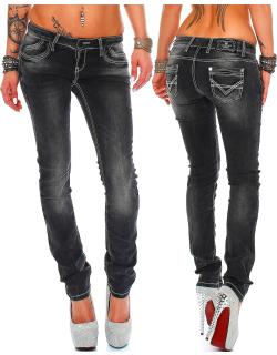 Cipo & Baxx Damen Jeans C46007 W32/L32