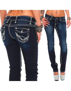 Cipo & Baxx Damen Jeans CBW0231