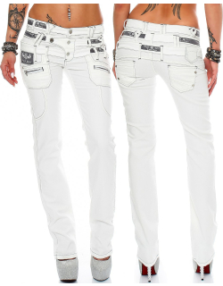 Cipo & Baxx Damen Jeans CBW0245