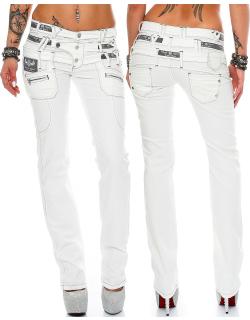 Cipo & Baxx Damen Jeans CBW0245 W32/L34