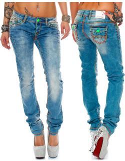 Cipo & Baxx Damen Jeans CBW0445 W30/L32