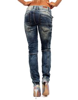 Cipo & Baxx Damen Jeans WD175
