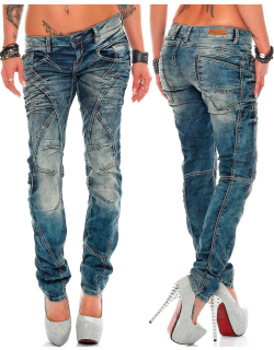 Cipo & Baxx Damen Jeans WD175 W25/L32