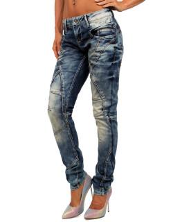 Cipo & Baxx Damen Jeans WD175 W28/L32