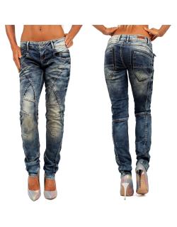 Cipo & Baxx Damen Jeans WD175 W28/L34