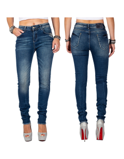 Cipo & Baxx Damen Jeans 19CB06 W29/L32