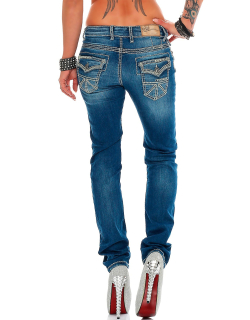 Cipo & Baxx Damen Jeans WD201